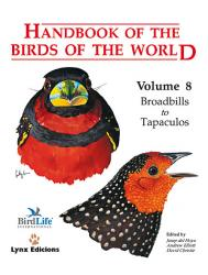 Handbook of the birds of the World Volume 8