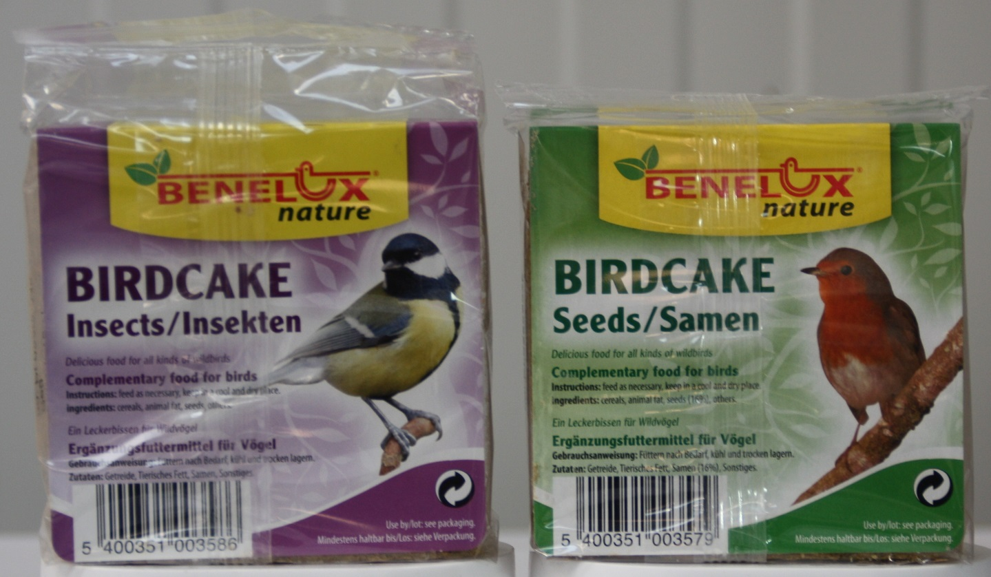 Biscuit birdcake nature aux insectes