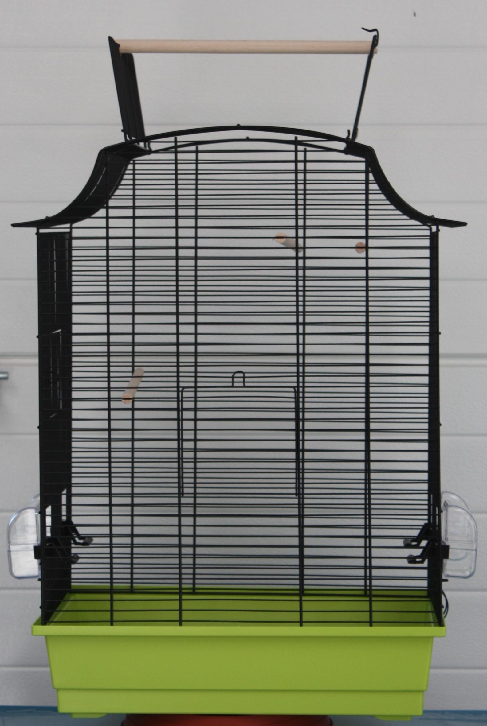 Cage rectangulaire SABINE toit ouvrant