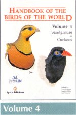 Handbook of the Birds of the World Volume 4